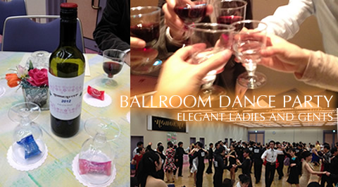 Ballroom Dance Party - Elegant ladies and Gents